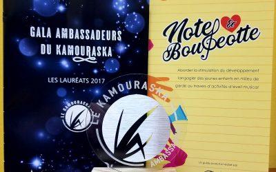 L'École Destroismaisons récompensée lors du Gala Ambassadeurs du Kamouraska 2017