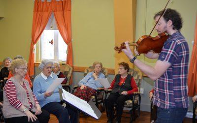 La musique pour améliorer la qualité de vie de nos aînés
